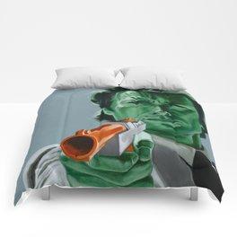 """""""Feel lucky, duck?"""" Comforters"""