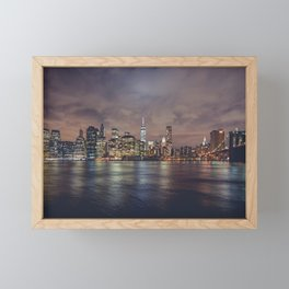 NYC Skyline Framed Mini Art Print