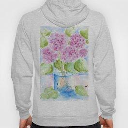 Lavender Hydrangea Hoody