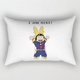 Small Might Rectangular Pillow