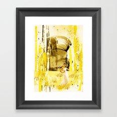 Between The Lines Framed Art Print