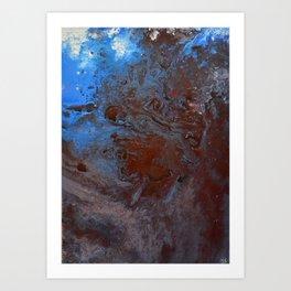 Riverine Art Print