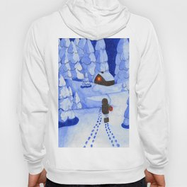 Following traces Hoody