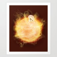 Lost in a Space / Sunlion Art Print