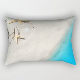 Beach Shore Scene Rectangular Pillow