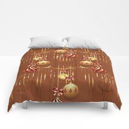 Christmas glass balls Comforters