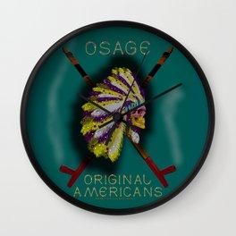 OSAGE - 001 Wall Clock