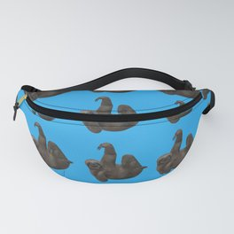 Blue Sloth Love Fanny Pack