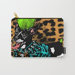 Punk Dog Carry-All Pouch