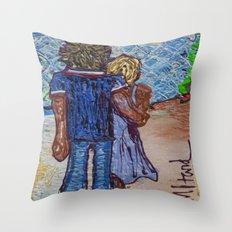 Sunny SoCal Throw Pillow