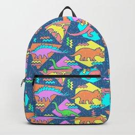 Nineties Dinosaur Pattern Backpack