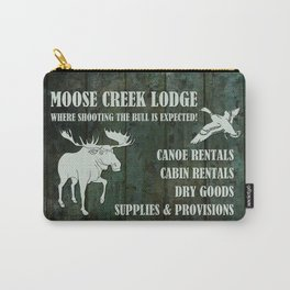 MOOSE CREEK LODGE Carry-All Pouch