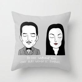 G & M Throw Pillow