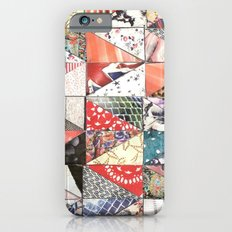 patchwork iPhone 6s Slim Case