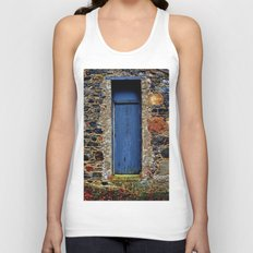 The Blue Door of Ballymascanlon Unisex Tank Top