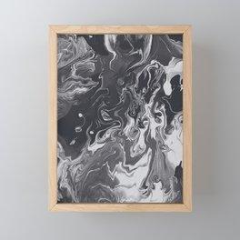 IT'S HARD TO GET AROUND THE WIND Framed Mini Art Print