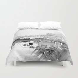 grey force, grey electricity Duvet Cover