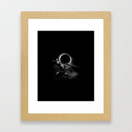The Abyss Knight Framed Art Print