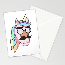 Unicorn Mask People Glasses Beard halloween Dress Up Carnival Kids Gift Idea Stationery Cards