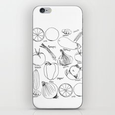 Produce iPhone & iPod Skin