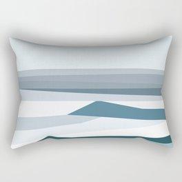 Geometric Bondi beach, Sydney Rectangular Pillow