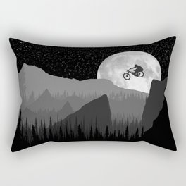 MTB Moon Rectangular Pillow