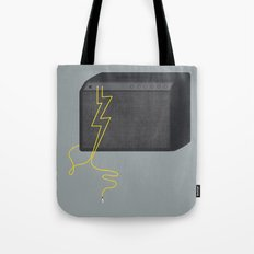 Electric/Acoustic Lightning Tote Bag