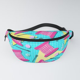 Memphis Sewing - Brights Fanny Pack