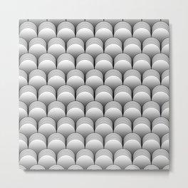 The Barrel (Neutral) Metal Print