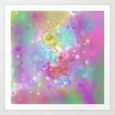 Pastel Creations  Art Print