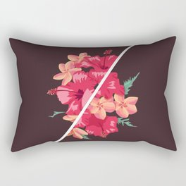 Flowers Out of Sync Rectangular Pillow