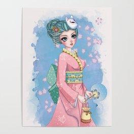 Yukata matsuri Poster