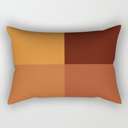 Autumn geometric pattern Rectangular Pillow