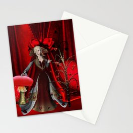 Fairy of the hearts Stationery Cards