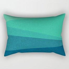 Stripe VIII Minty Fresh Rectangular Pillow