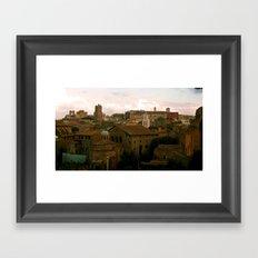 Good Morning Roma! Framed Art Print