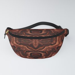 Chocolate absract Fanny Pack