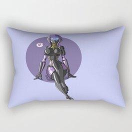Tali Zorah from Mass Effect - Cute pinup Rectangular Pillow