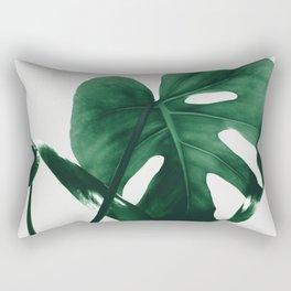 Monstera Vibes #1 #minimal #green #decor #art #society6 Rectangular Pillow