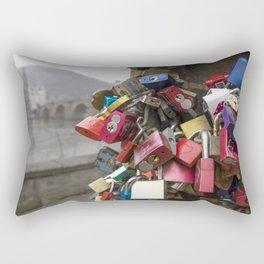 Heidelberg Love Locks Rectangular Pillow