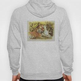Tiger in free Wilderness Hoody
