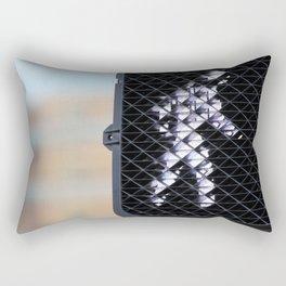 Pedestrian Walk Signal Rectangular Pillow