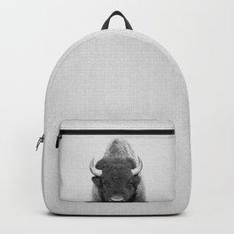 Buffalo - Black & White Backpack