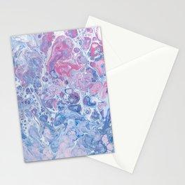 Suminagashi Japanese Paper Marbling Art Stationery Cards