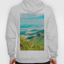 Vintage Landscape Photography Mountain Valley Photography Hoody