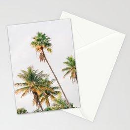 Curvy Florida Palms Stationery Cards