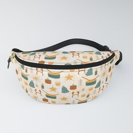 Christmas Toys Fanny Pack