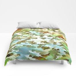 Dusty Miller Abstract Pop Art Comforters