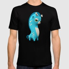 Cool Blue Wippo Black Mens Fitted Tee X-LARGE