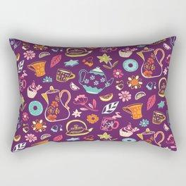 Tea Garden Rectangular Pillow